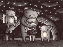 I'm sad because only bears seem to like me.