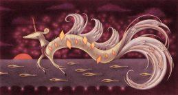 """Diamond Serpent"" (pencil, colored in Photoshop)"