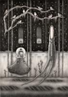 """Winter Forest"" (graphite)"