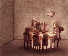 "Steph Kunze ""Interior Scene I"""