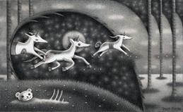 """Unicorns"" (pencil)"