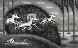 """Unicorns"" (pencil)"